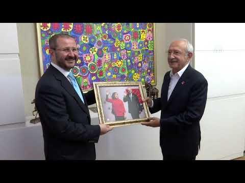 AA Yönetim Kurulu üyeleri, CHP Genel Başkanı Kılıçdaroğlu'nu ziyaret etti