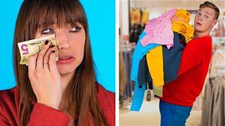 Shopping : Garçons VS Filles / Les Vraies Différences Que Tout Le Monde Connait
