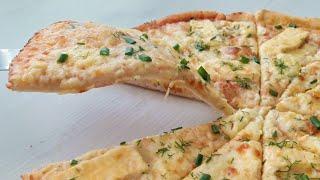 Даже в пиццерии такую не делают Самый вкусный и простой рецепт пиццы с сыром