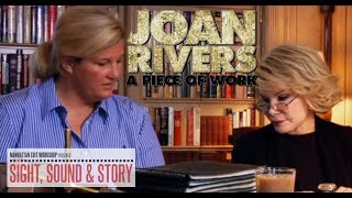 "Editor Penelope Falk Discusses ""relevance"" in the Documentary ""Joan Rivers: A Piece of Work"""
