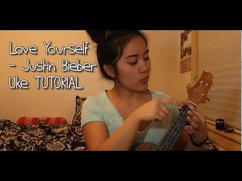 Love Yourself Justin Bieber Ukulele Easy Tutorial Youtube