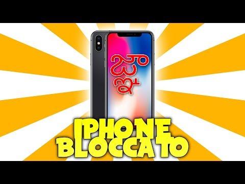 HO L'IPHONE BLOCCATO.
