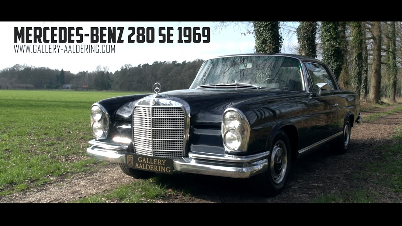 Mercedes benz 280 se coupe 1968 gallery aaldering tv for Mercedes benz tv