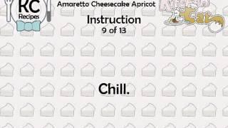 Amaretto Cheesecake Apricot - Kitchen Cat