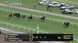 Woodbine, Tbred, July 22, 2021 Race 2
