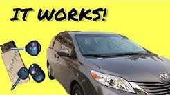 Toyota Key Programming, Even Newer Vehicles