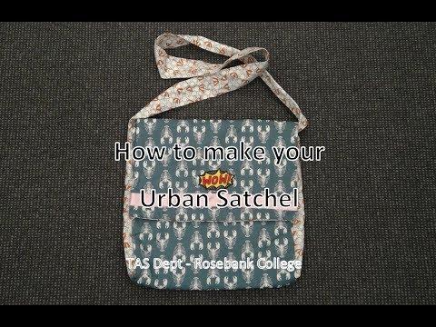 YR 7 RBC - TECH - How to make your Urban Satchel