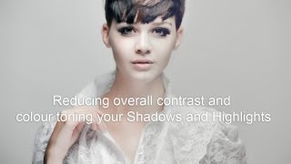 Reducing Contrast and Colour Toning Shadows and Highlights