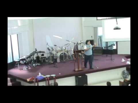 Isabel Contreras predicacion Mi vida pasada por el fuego del Espiritu Santo