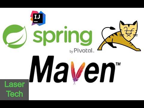Spring Boot Project using Maven & IntelliJ Using terminal Linux (Ubuntu) CLI & Java