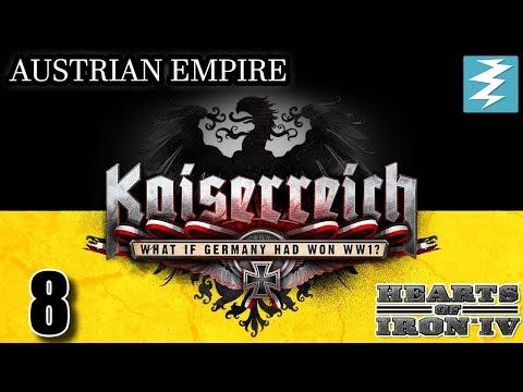 FRANCE ROUND 2 [8] Austria - Kaiserreich Mod - Hearts of Iron IV HOI4 Paradox