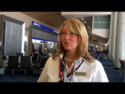 Where Does A Bag Go After It's Checked? - Behind The Scenes @AmericanAir