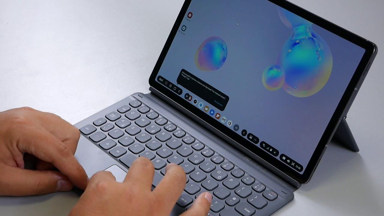 СРАВНЕНИЕ | Клавиатуры <b>Samsung Galaxy</b> Tab S4 и Tab S6 ...