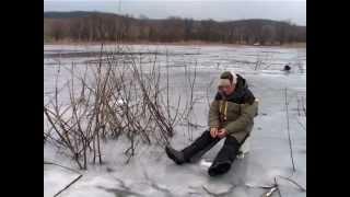 """Последний лёд: на Рыбалку с Жерлицами. """"О Рыбалке Всерьез"""" видео 123.."""