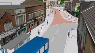 WYG Vissim: Loughborough Town Centre Bus Trial