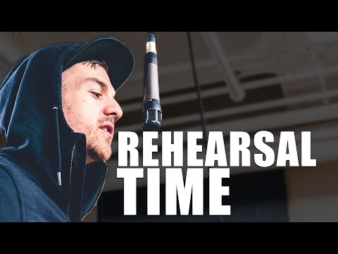 Get Ready For The Show! - Rehearsal Day with Dunna - #DunnaVlog 06