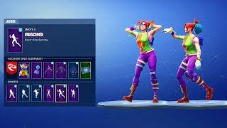"*NEW* ""PEEKABOO"" SKIN SHOWCASE WITH FORTNITE LEAKED DANCES & EMOTES!"