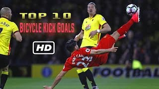 Top 10 Goal Tendangan Salto!!  Part 1