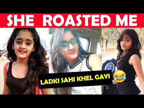 This 9 Year Old Girl Replied To My Video Ft. PUBG Memes Ep. 4 I Bindass Kavya Roasted I BBF