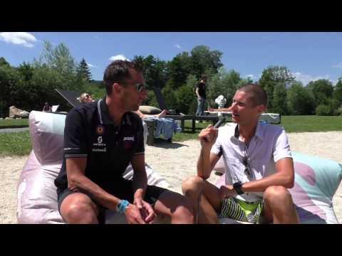 IRONMAN Austria Pre Race Gespräch mit Marino Vanhoenacker