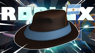 HOW YOU WIN THE FREE ARGENTINA FEDORA HAT ON ROBLOX!