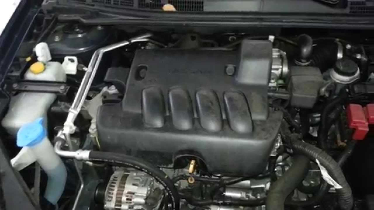 2012 Nissan Sentra Sedan Mr20de 2 0l I4 Engine Running