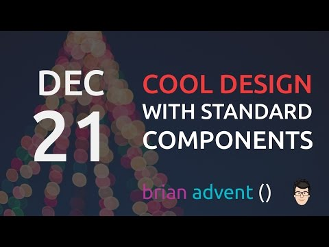 iOS Design Tutorial: Designing with standard UIKit components - A Christmas App 21/24 🎄