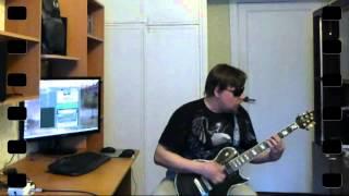 Приключения электроников-Трава у дома-Guitar cover