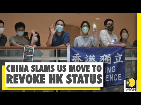 US drafting sanctions on Chinese firms | China slams US | Hong Kong protests