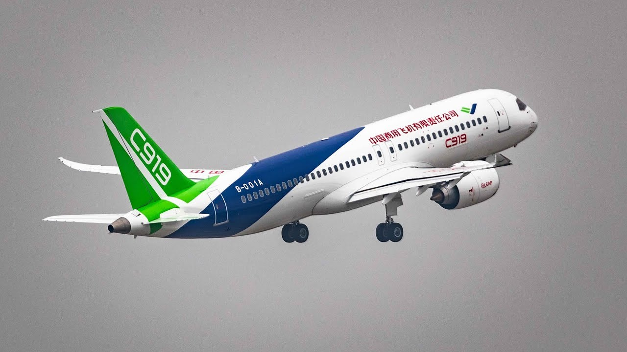 China's first homegrown large passenger jet C919 is coming ...