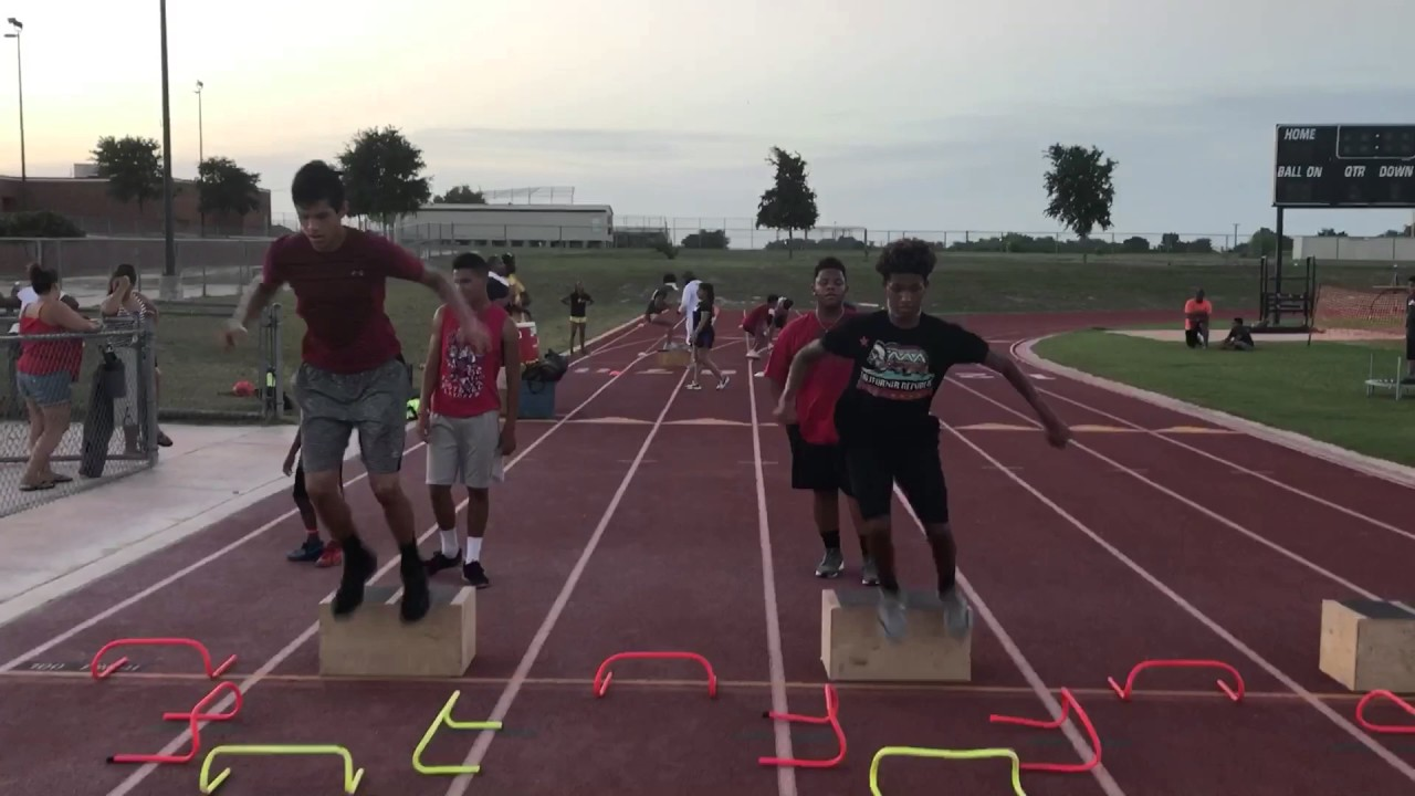 First step Athletics sports performance skill camp