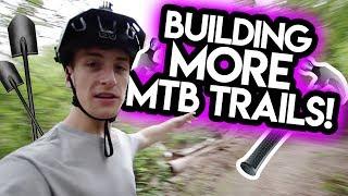 Building SECRET MTB Trails (AGAIN!?)