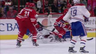 Jeff Petry 1-0 Goal - Canadiens @ Hurricanes - 11.18.2016 - HD