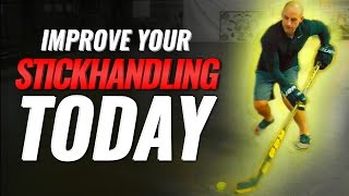 HOW TO IMPROVE YOUR STICKHANDLING TODAY