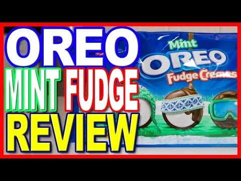 Mint ★ Oreo ★ Fudge Creme Cookie / Biscuit Review