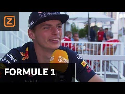 2017 | Ziggo Sport | FP Interview | Max Verstappen | Grand Prix Azerbaijan