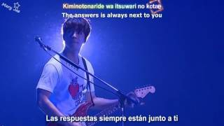 "FTISLAND - Arigatou ""Thank you"" ( Sub English & Español) Karaoke"
