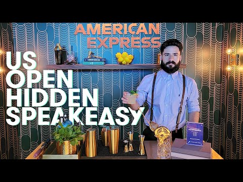 Inside Amex's Hidden Centurion Speakeasy At The US Open | The Points Guy