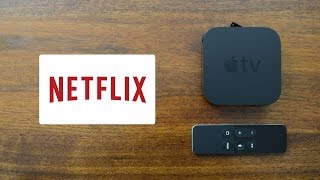 Netflix App for the NEW Apple TV - Walkthrough