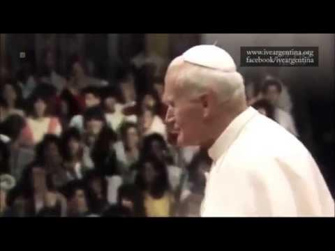 Juan Pablo II al encuentro de los jóvenes