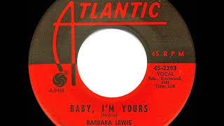 1965 HITS ARCHIVE: Baby I'm Yours - Barbara Lewis