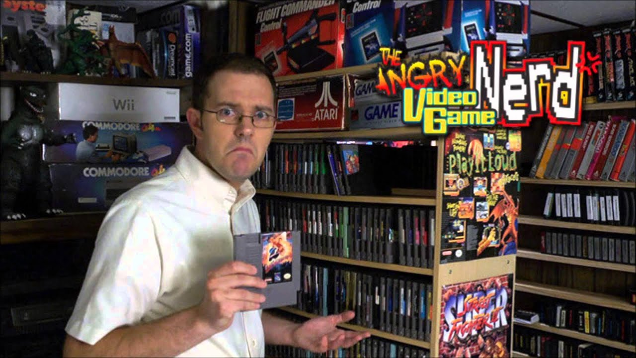 The Angry Video Game Nerd (AVGN) - Theme song cover by ...