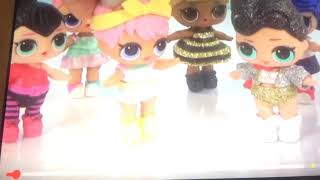 Lol Surprise Dolls Dress Up In Cupcake Dresses Cinderella Ball Gowns