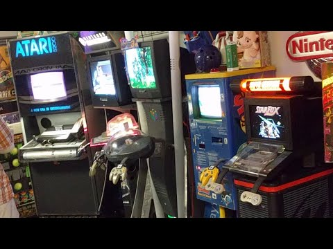 Amazing Kiosks + Game Collection tour - 15,000+ GAMES!!