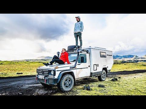 ULTIMATE VAN TOUR - 4x4 offroad mercedes g wagon for overlanding van life