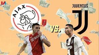 Het Middenveld van 1 Euro Tegenover de 117 miljoen Voor Superster Ronaldo