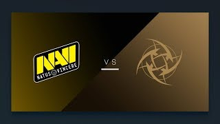 CS:GO - Na'Vi vs. NiP [Mirage] Map 2 - EU Day 6 - ESL Pro League Season 6