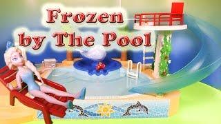 FROZEN Disney Frozen Elsa & Anna Diving Contest a Disney Frozen Video Parody