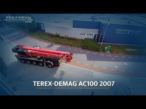 Terex-Demag AC100 2007 - YouTube