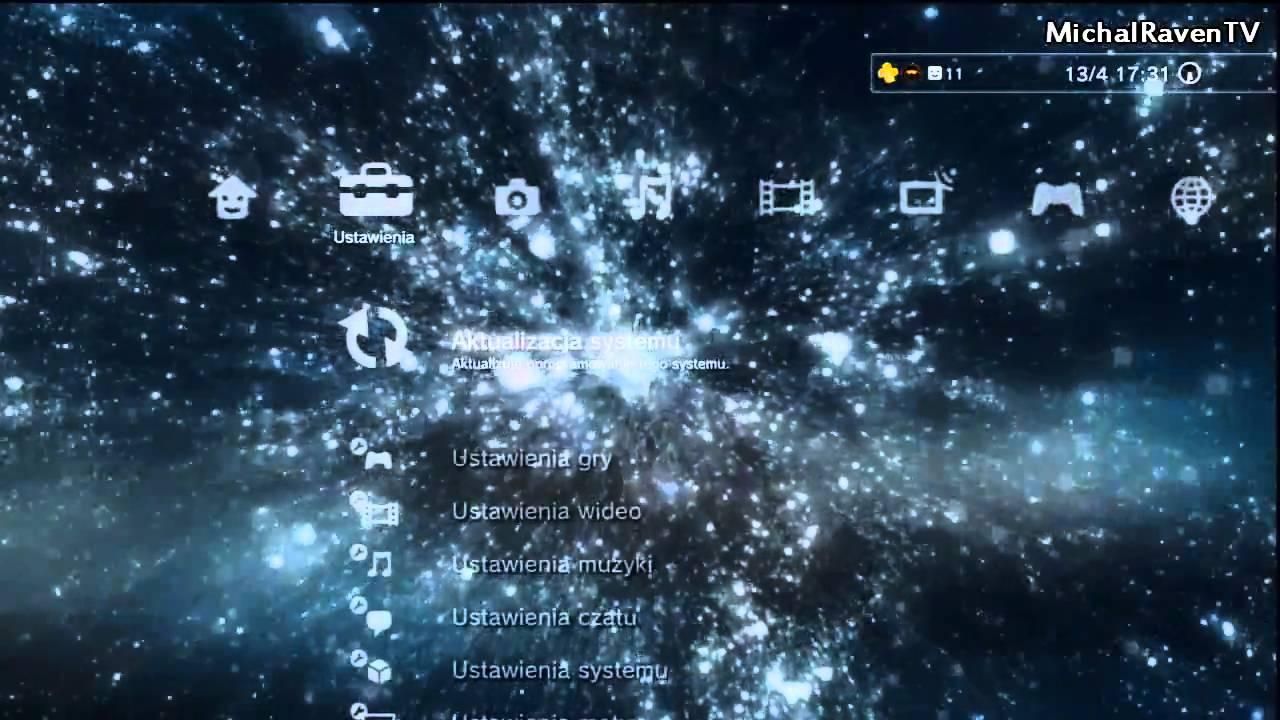 Dynamic Galaxy Theme (PS3)